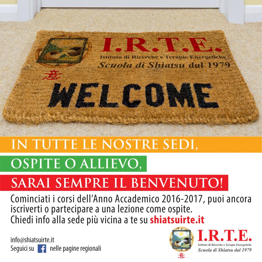 In tutte le nostre sedi, ospite o allievo, sarai sempre il benvenuto!