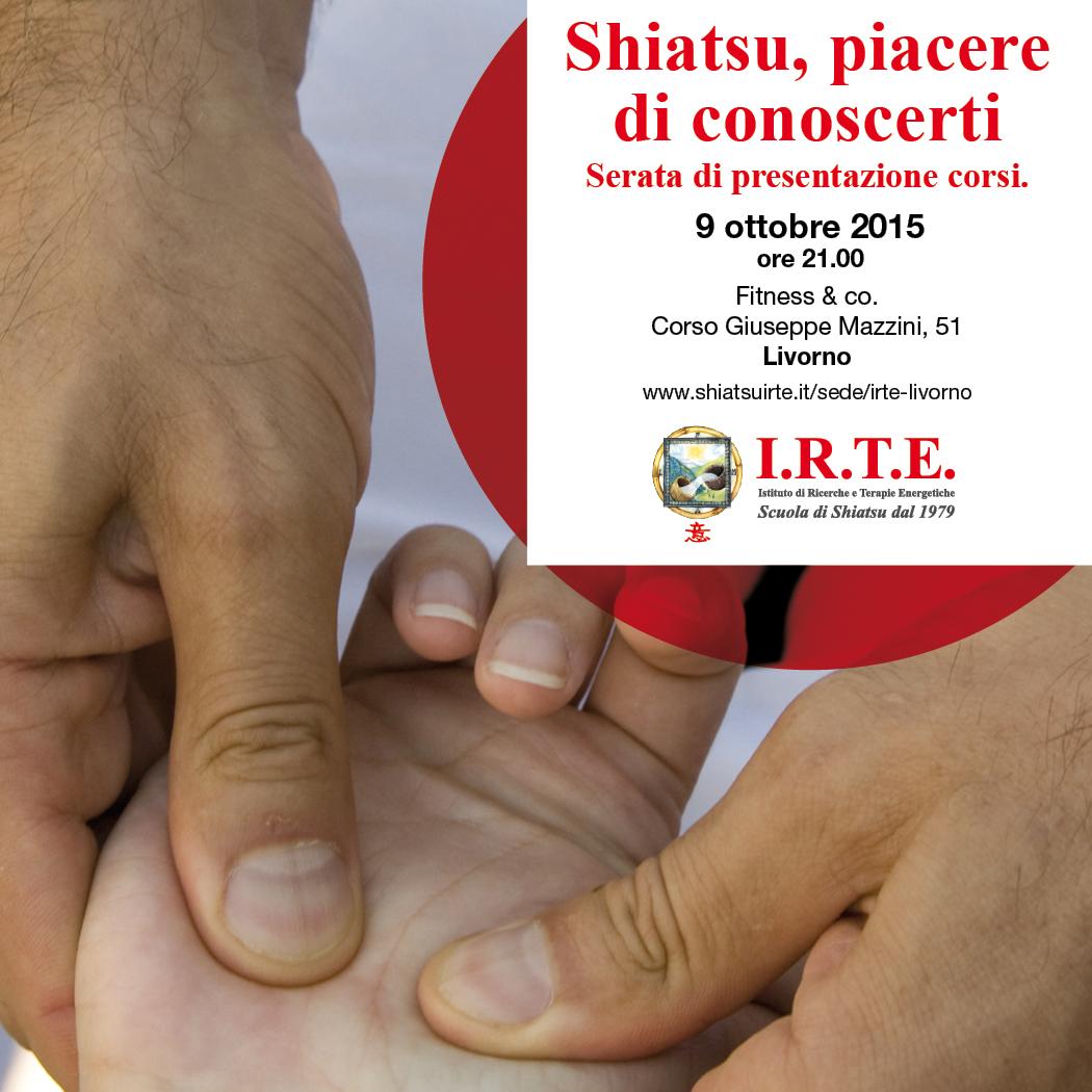 Shiatsu, piacere di conoscerti a Livorno.