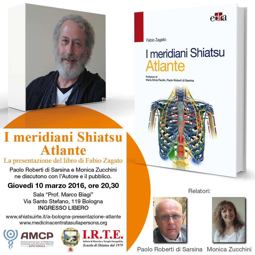 A Bologna, presentazione del libro &quote;I meridiani Shiatsu - Atlante&quote;