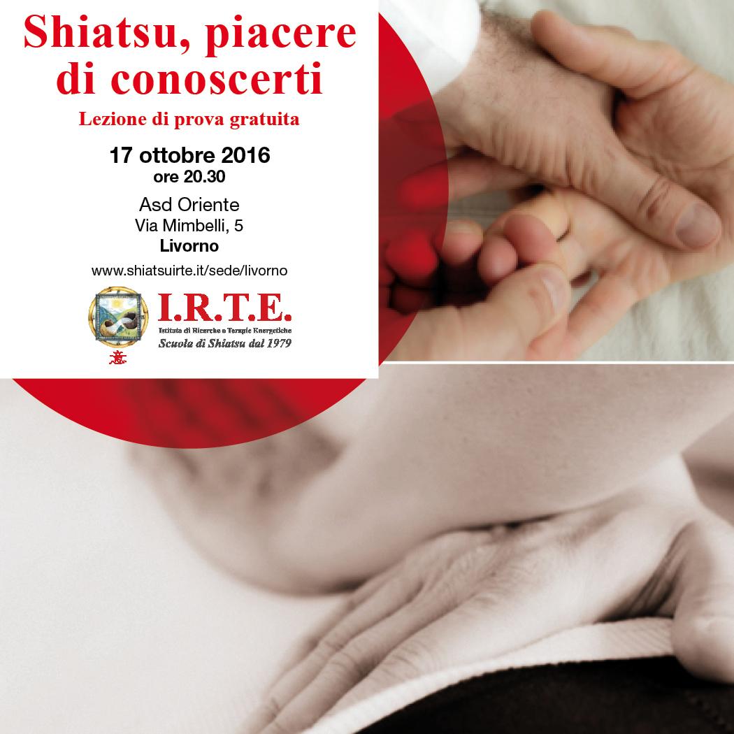 Shiatsu, piacere di conoscerti a Livorno