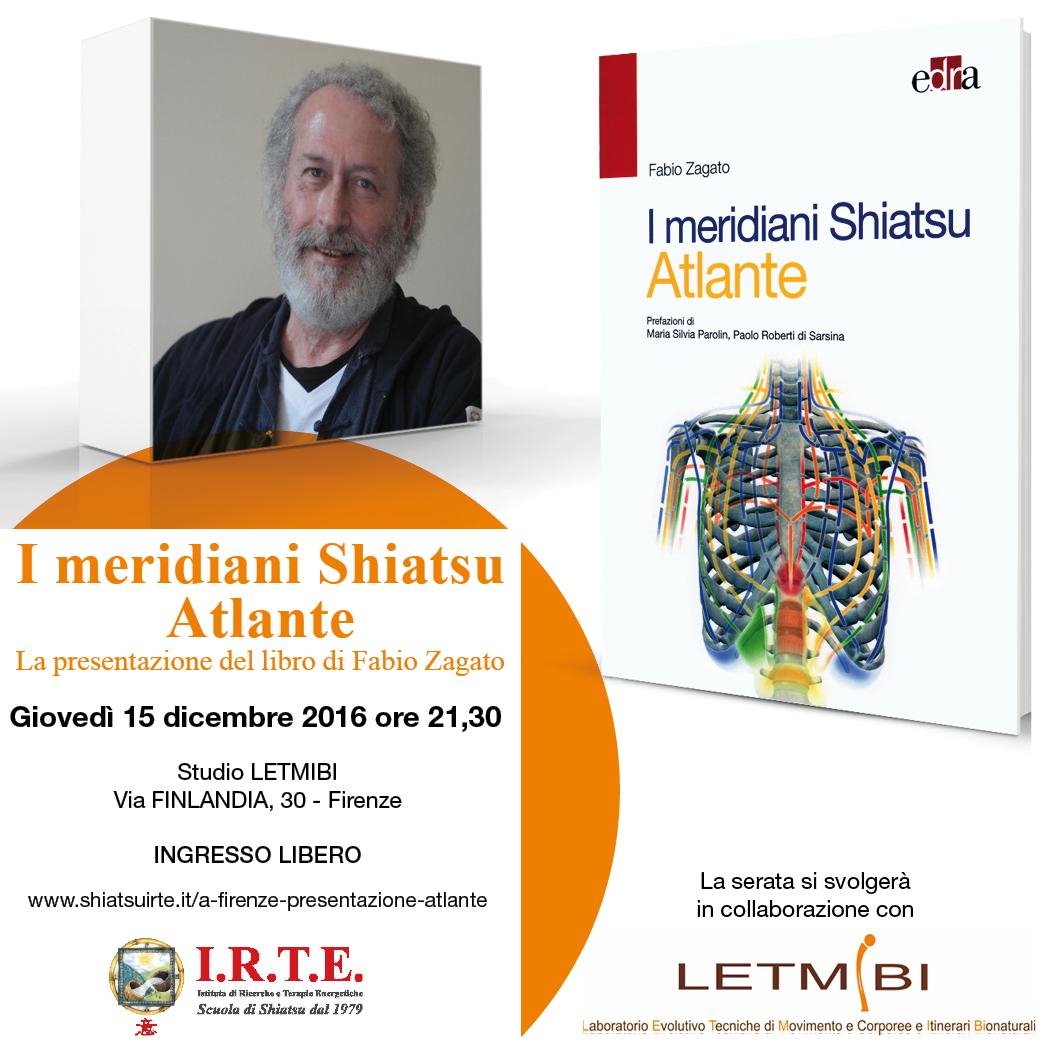 A Firenze, presentazione del libro &quote;I meridiani Shiatsu - Atlante&quote;