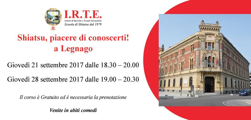 Lezioni gratuite di Shiatsu a Legnago (Verona)
