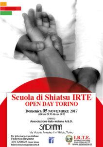 scuola di shiatsu irte Torino  open day