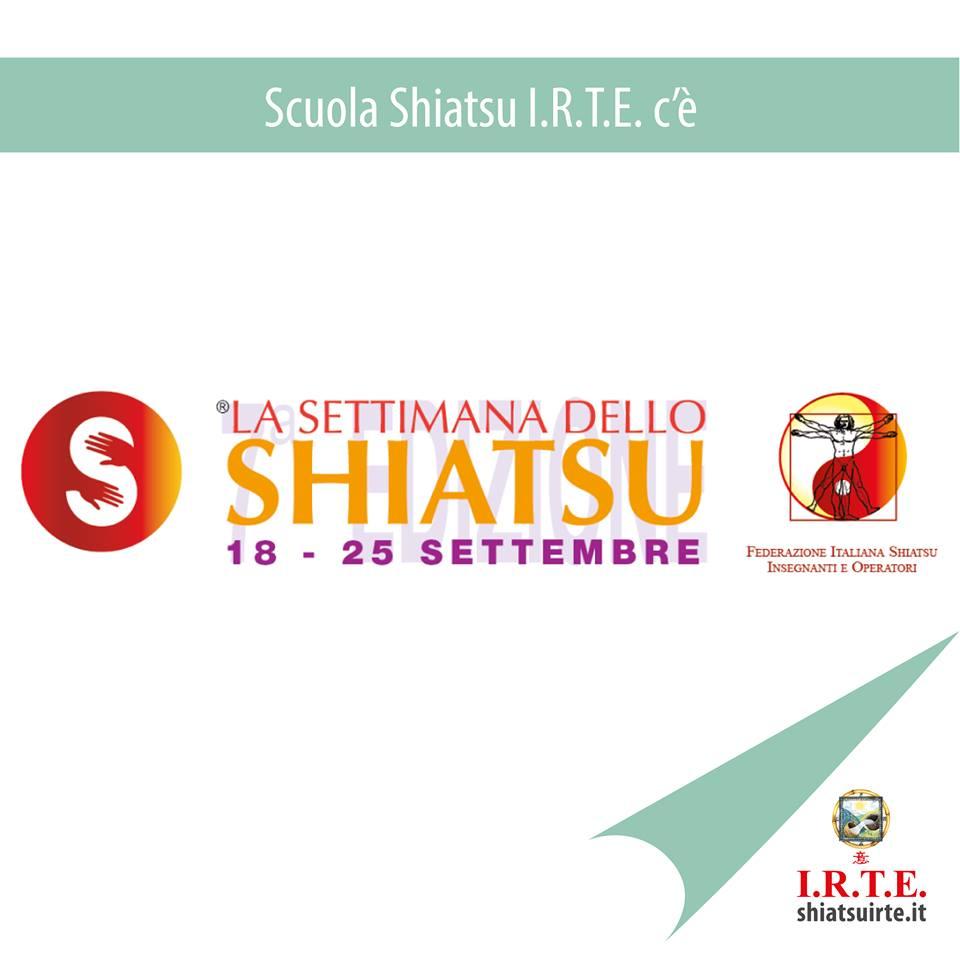 La settimana dello Shiatsu 2018, noi ci siamo