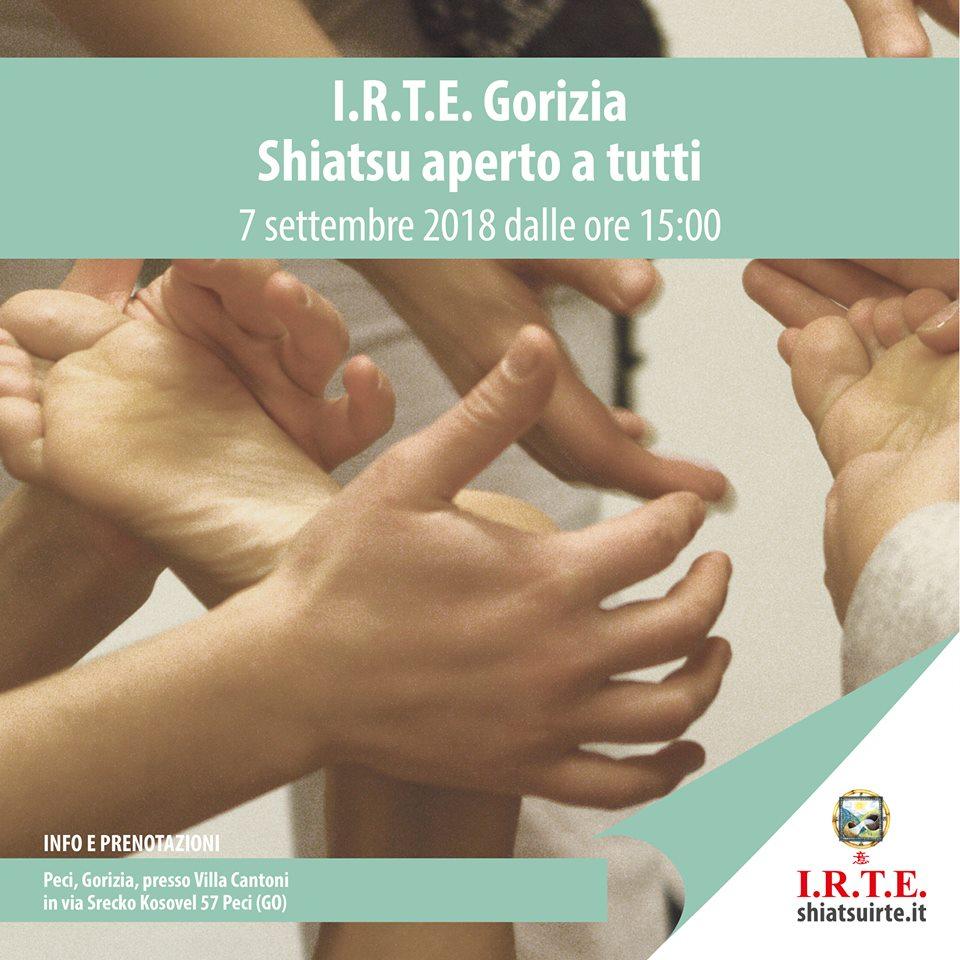 A Gorizia, Shiatsu aperto a tutti