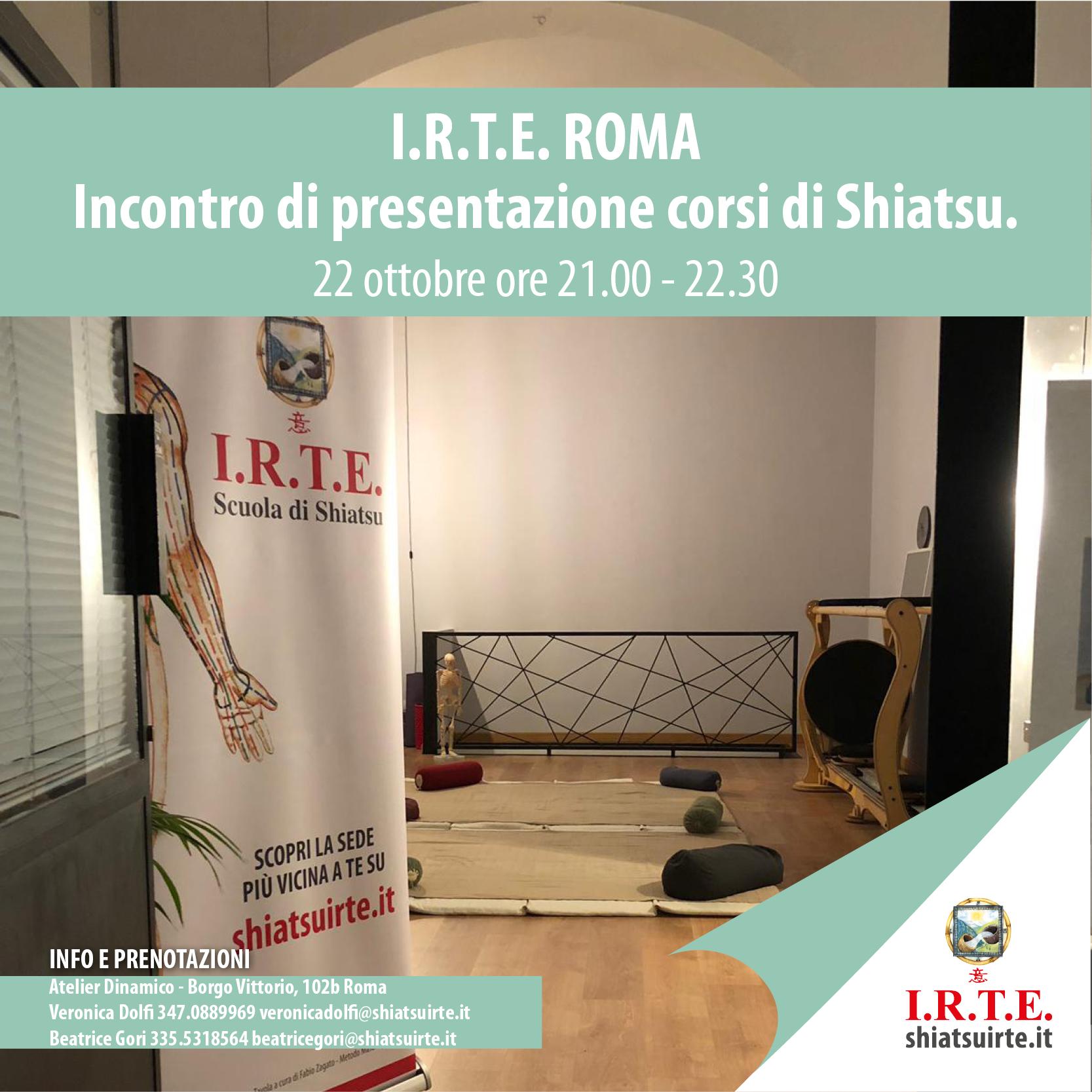 Presentazione Roma 22 OTT