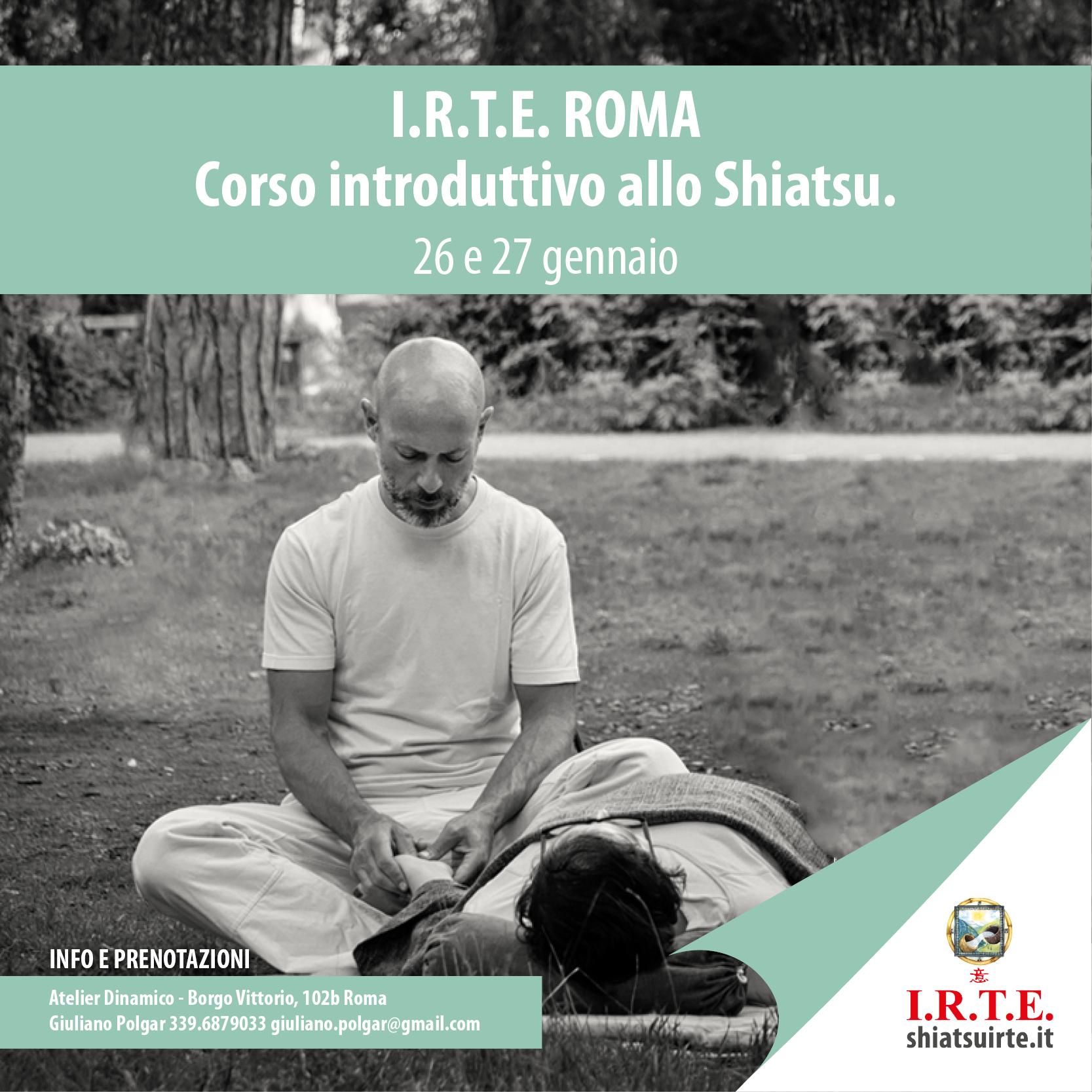 Corso introduttivo allo Shiatsu, a Roma