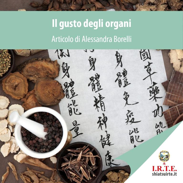 Il sapore degli organi Alessandra Borelli
