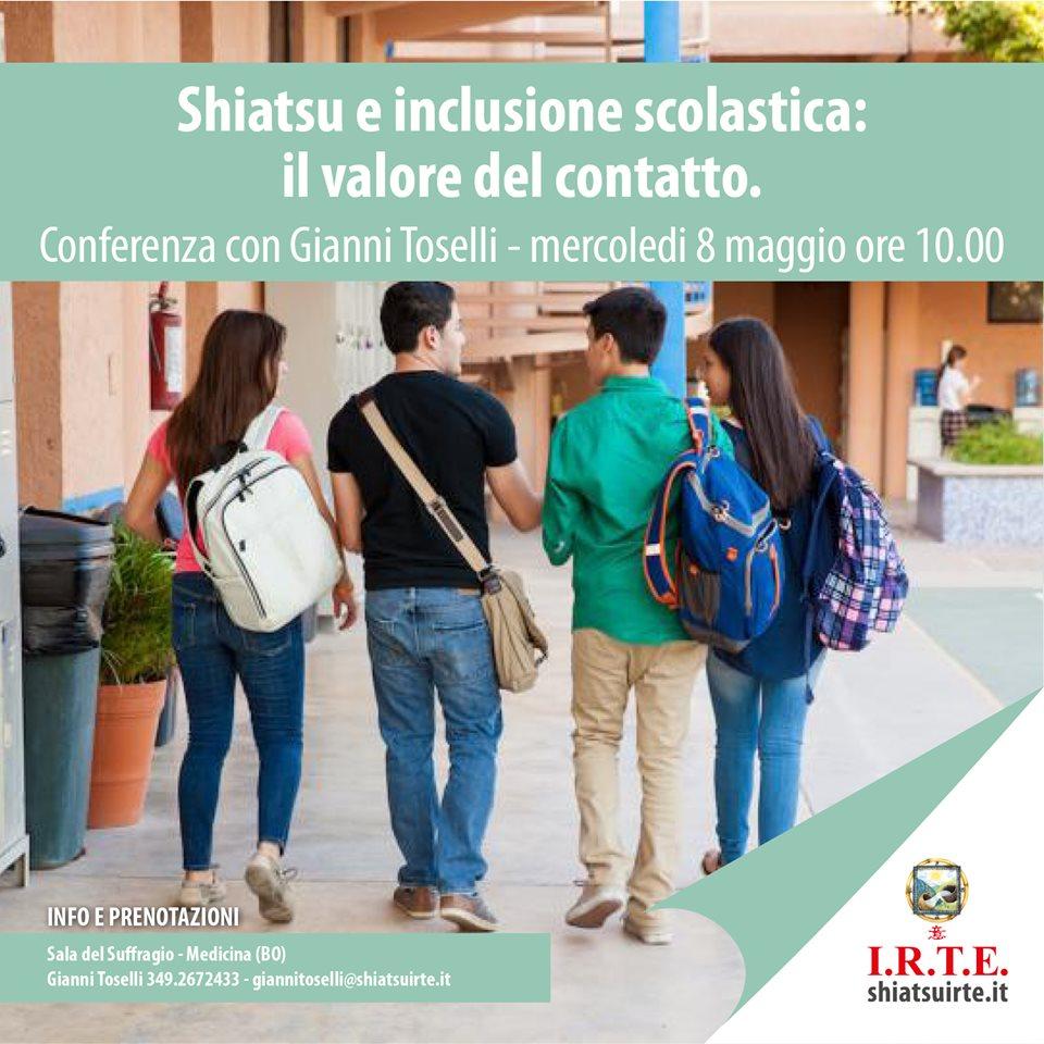 Shiatsu e inclusione scolastica, il valore del contatto