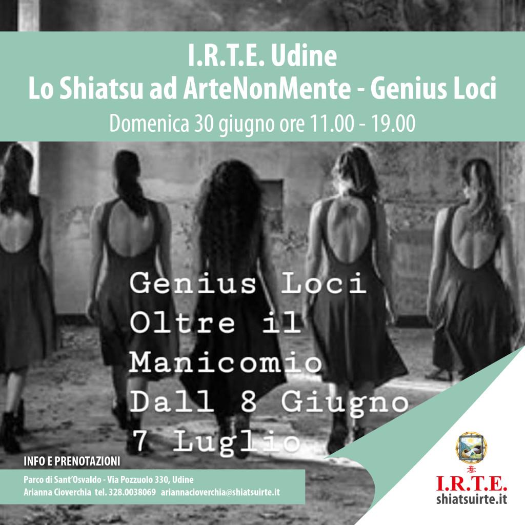 ArteNonMente 30 giugno 2019 Shiatsu I.R.T.E. Udine