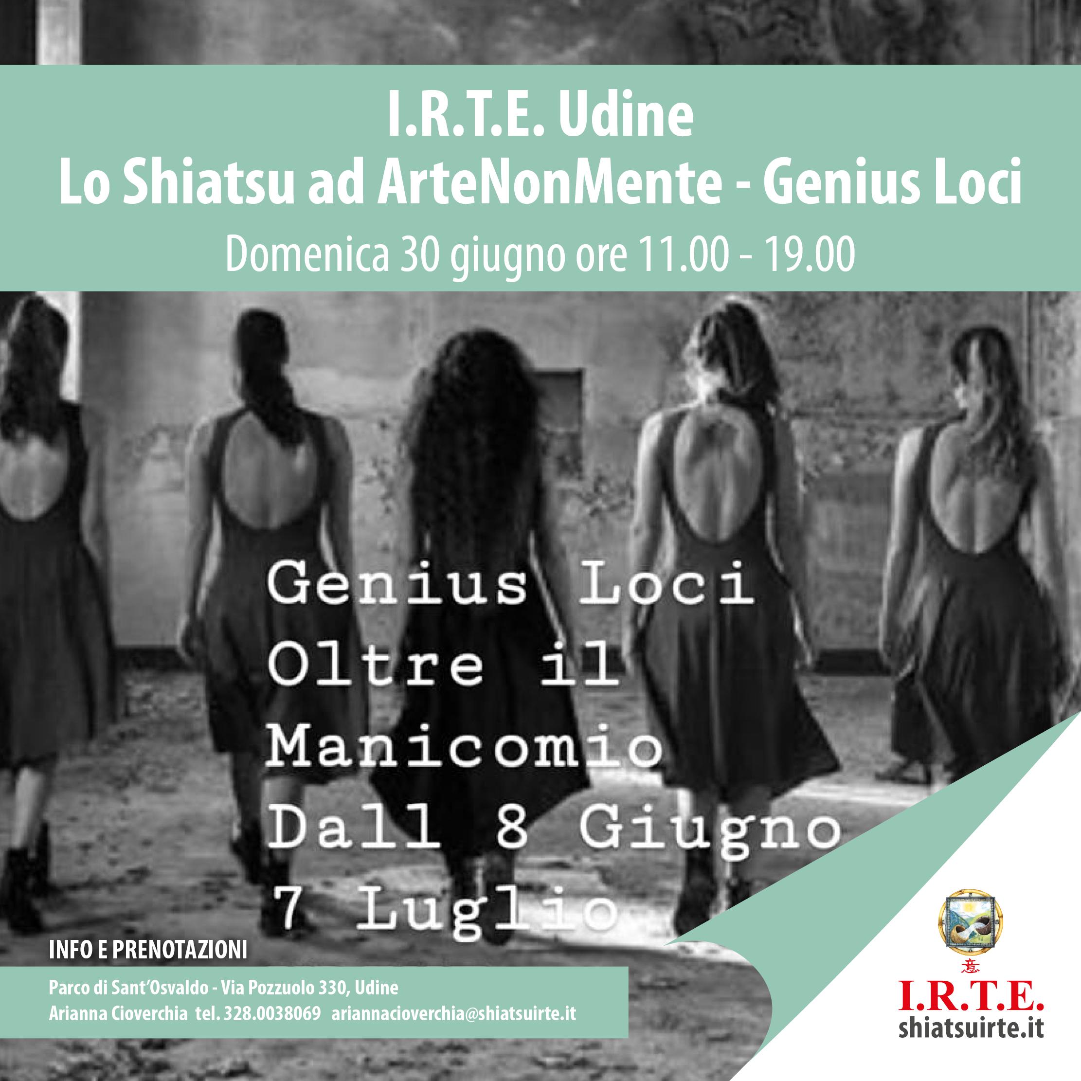 30 giugno 2019: I.R.T.E. ad ArteNonMente - Udine