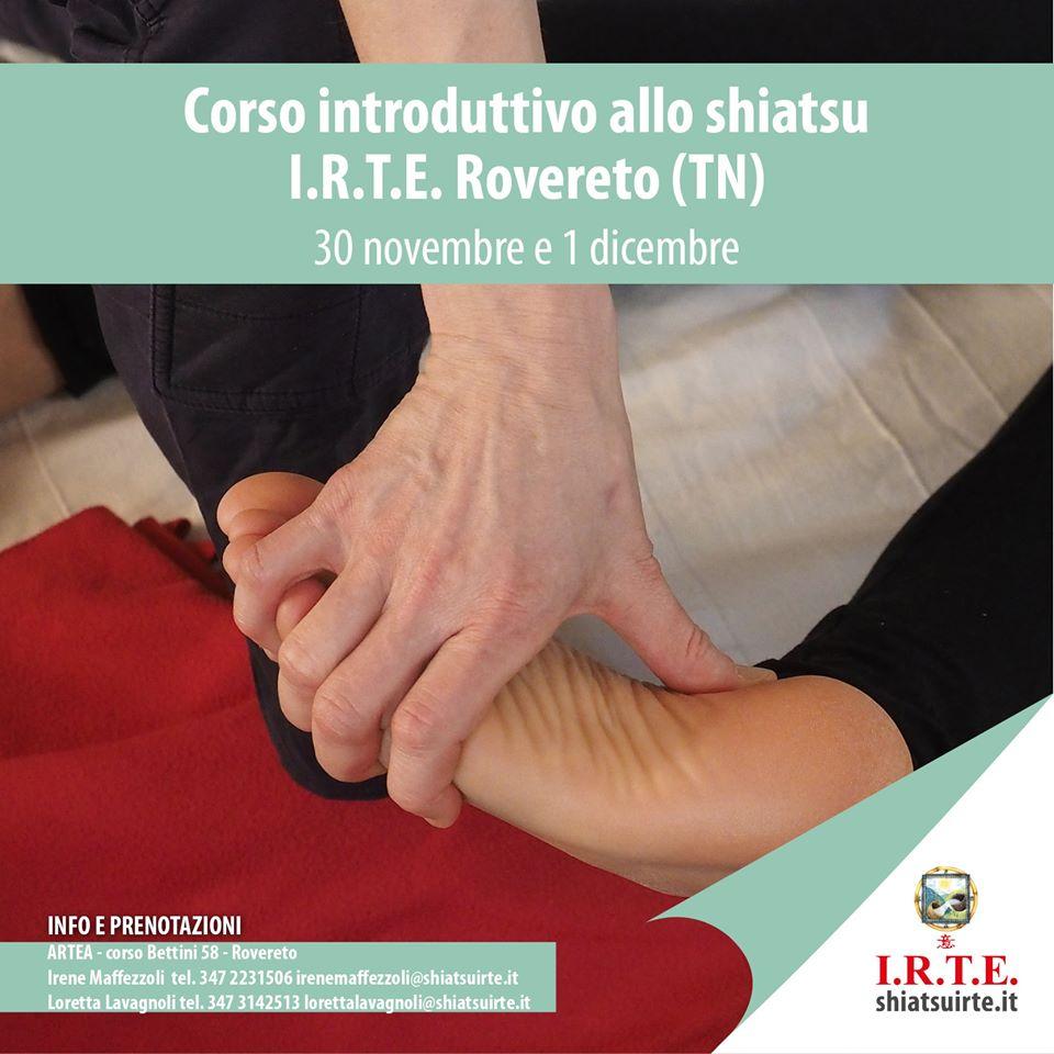 Rovereto  Corso Introduttivo 30 Novembre 1 Dicembre