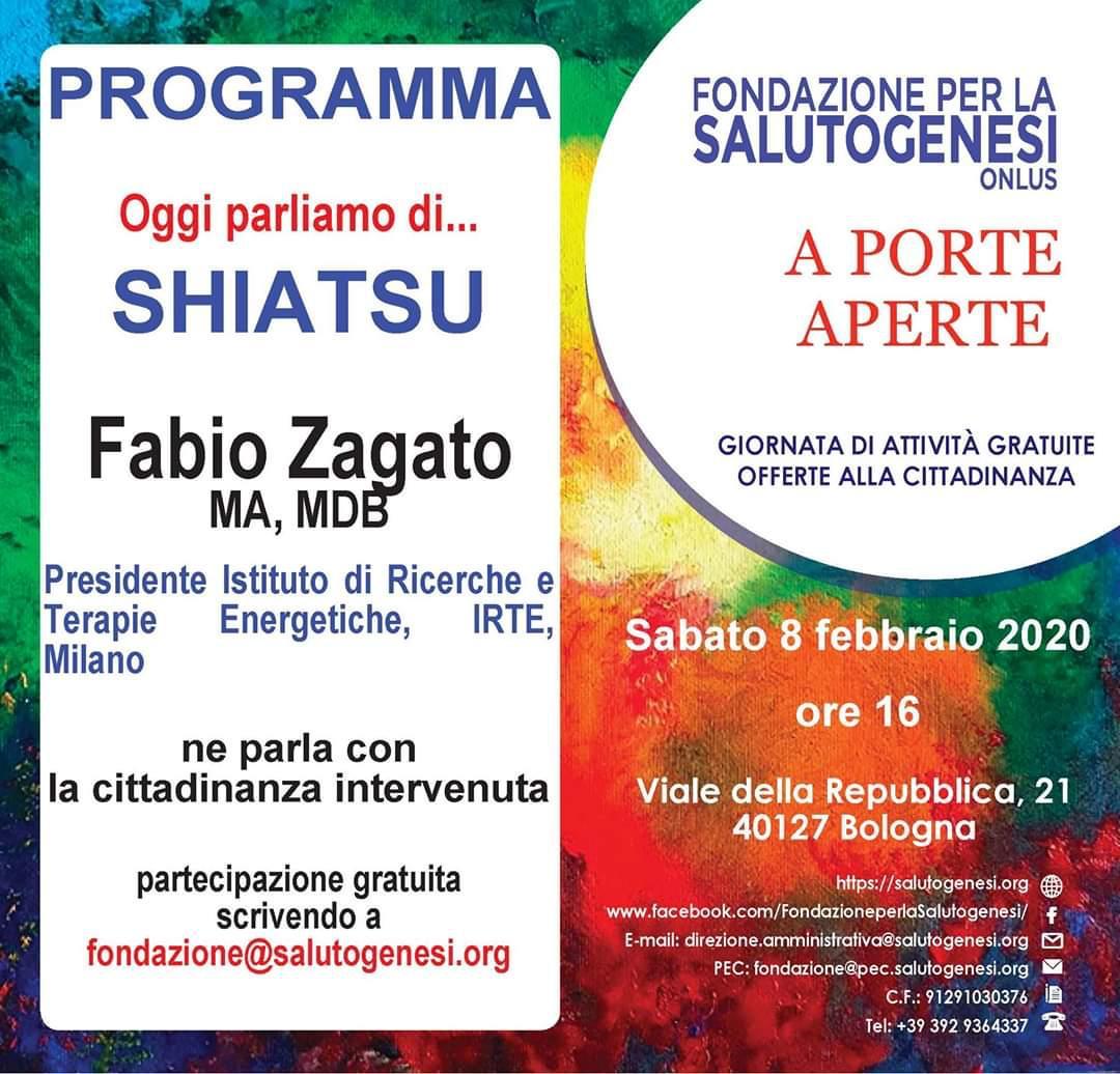 Shiatsu e Salutogenesi a Bologna