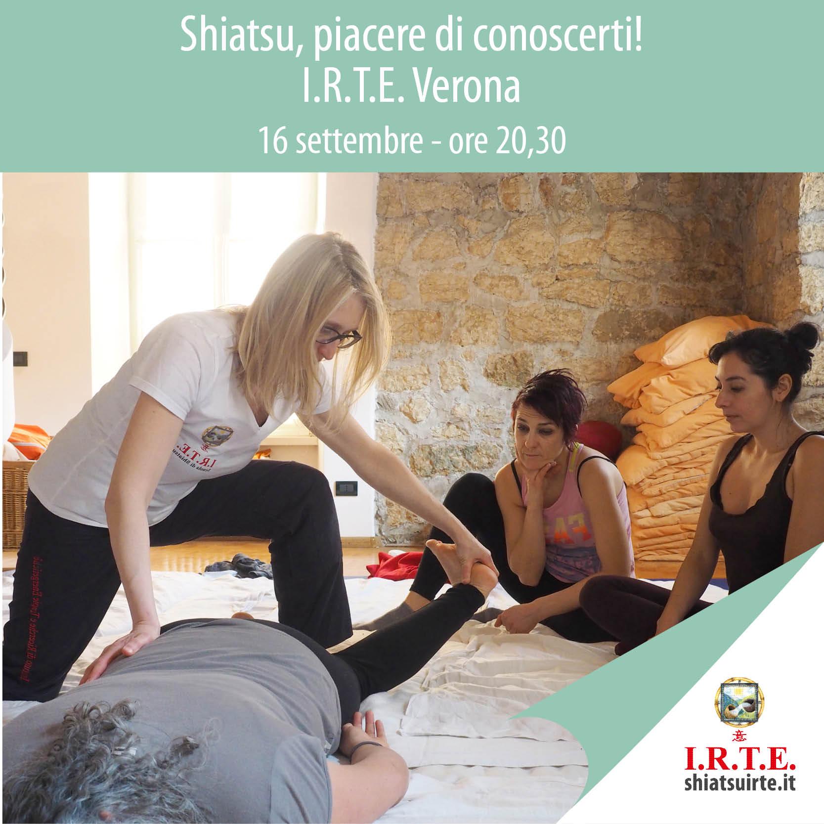 Verona, 16 Settembre 2020 Piacere di conoscerti
