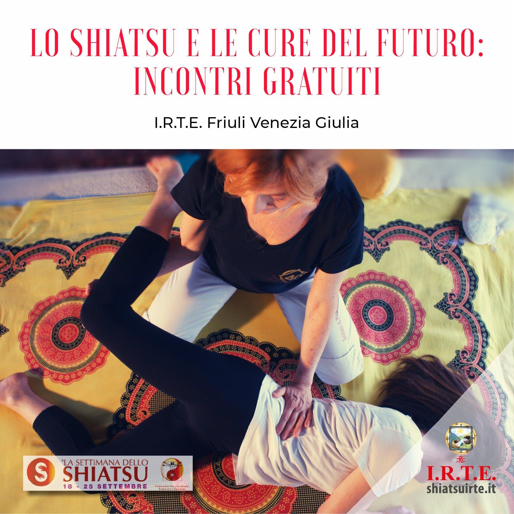 18-25 settembre 2020: la Settimana dello Shiatsu in Friuli Venezia Giulia - Incontri gratuiti
