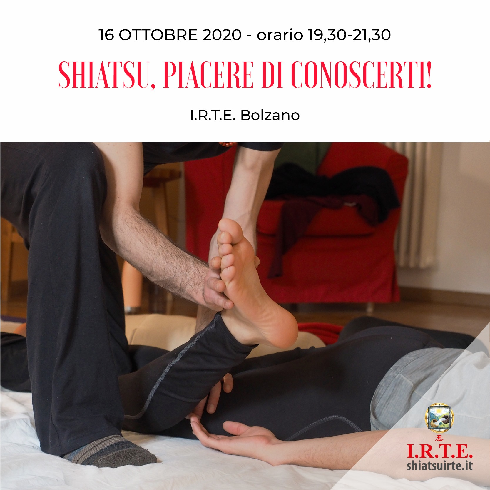 Bolzano, 16 Ottobre 2020 Piacere di conoscerti