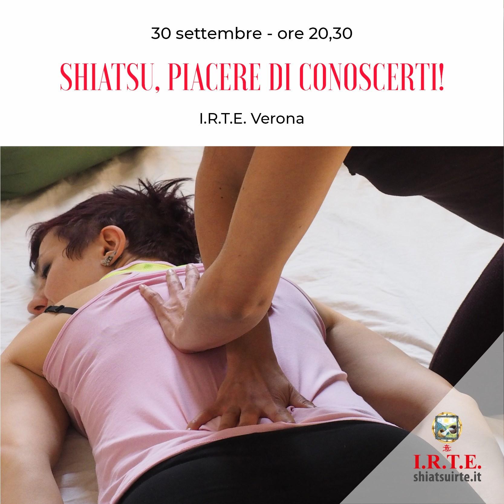 Verona, 30 Settembre 2020 Piacere di conoscerti
