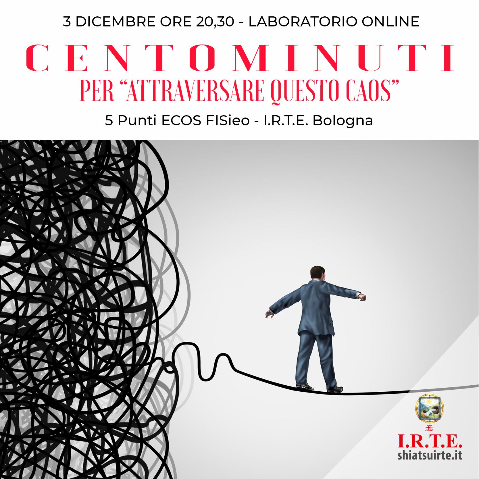 CENTOMINUTI - laboratorio interattivo online